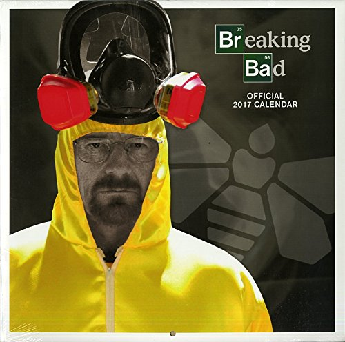 2017 Breaking Bad Official Calendar (Square Wall)