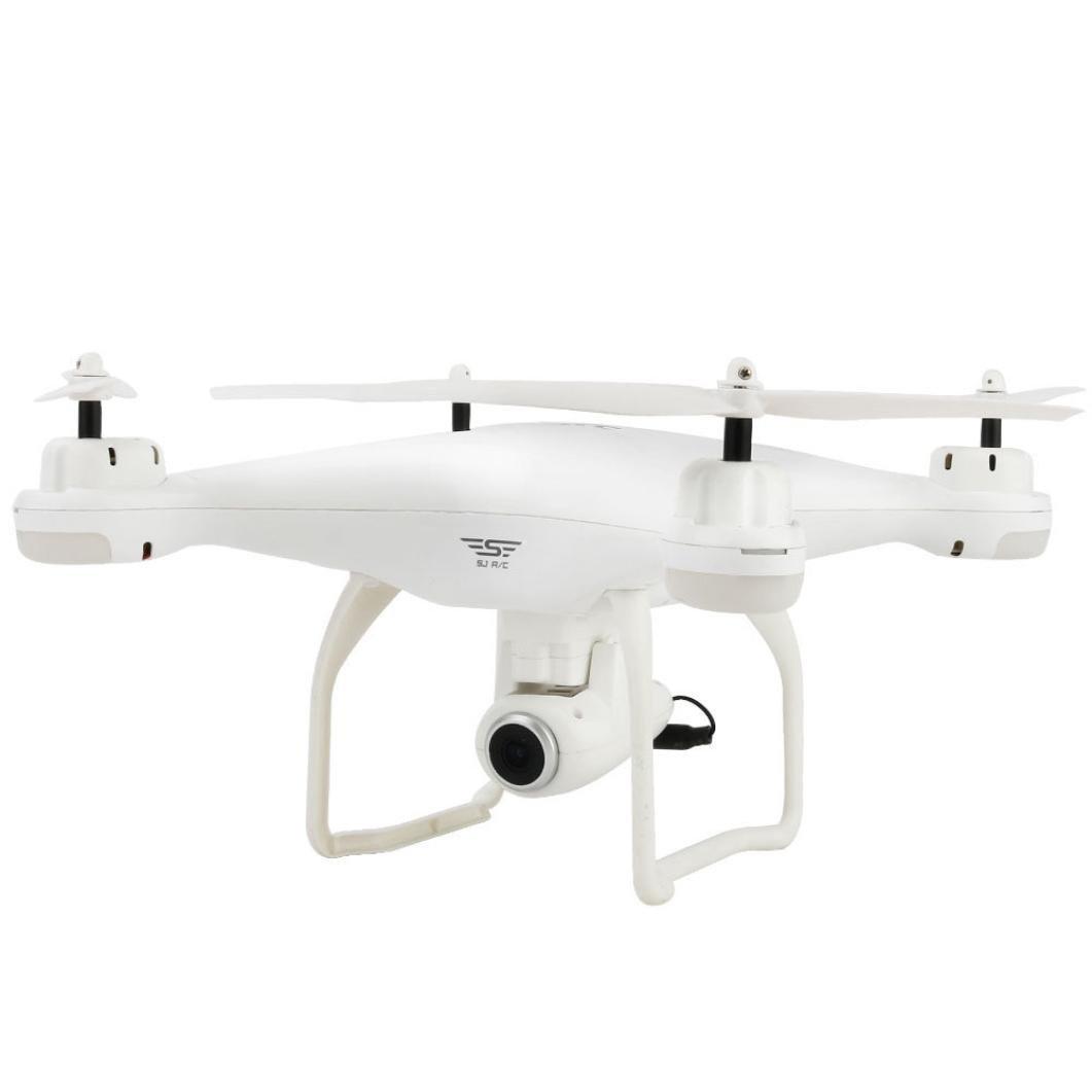 lywey RCクアッドコプタードローンカメラ&写真機能デュアルGPS FPV s20ライブビデオとone-key ReturnホームRTF, ホワイト B07C2P7HY5 ホワイト ホワイト