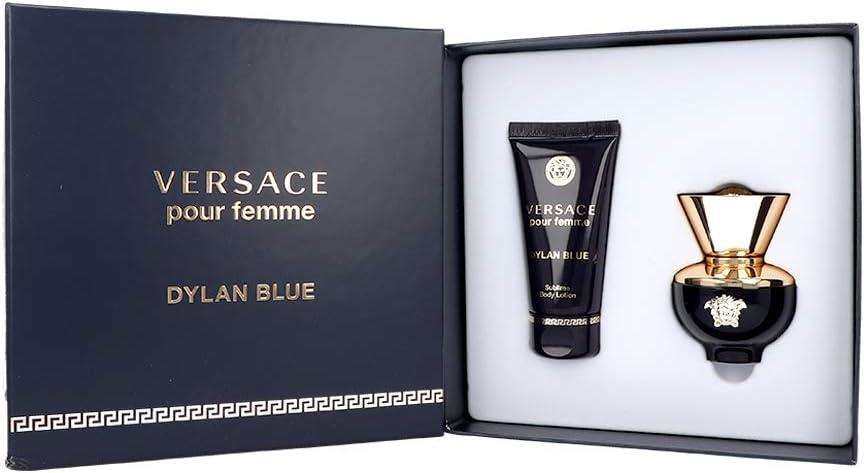 Versace - Estuche 2018 para mujer Dylan Blue edp 30, ref. 4135: Amazon.es: Belleza