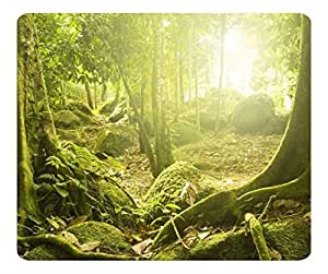 Decorative Mouse Pad Art Print Landscape and Plants Tree Roots 2 by lolosakes