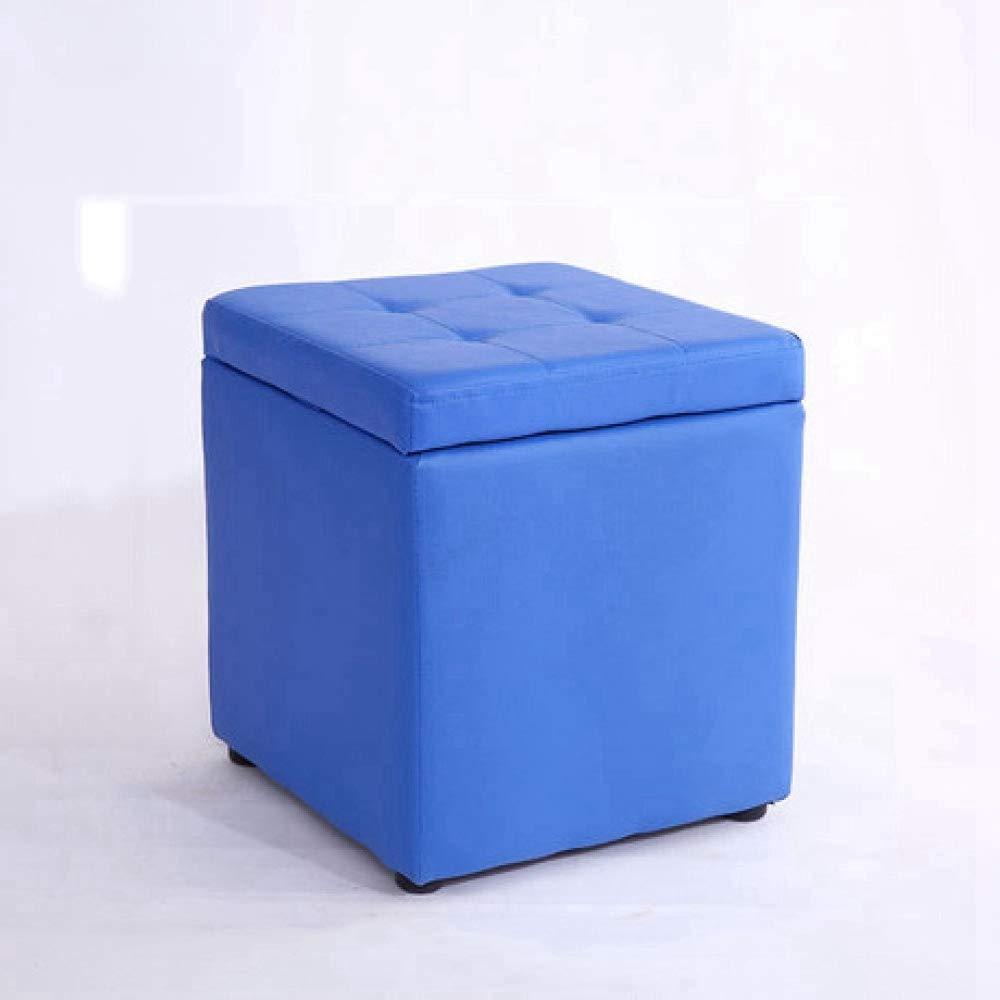 B ZhiGe Storage seat,Multifunctional Storage Stool Storage Solid Wood Comfortable Sofa Stool