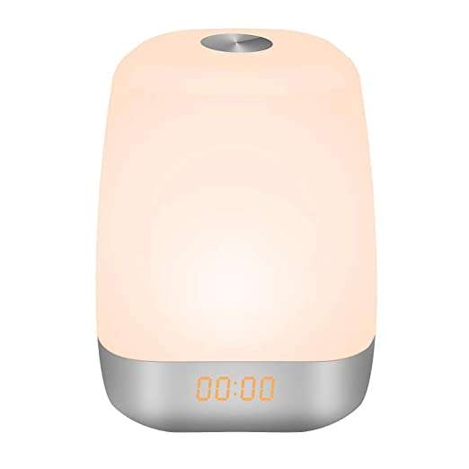 DGMAO Wake Up Light Digital Alarm Clock b8e450dd1