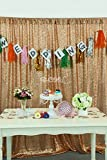 B-COOL Rose Gold Sequin Fabric Photography Backdrop-8ft x 10ft, Hot Sales