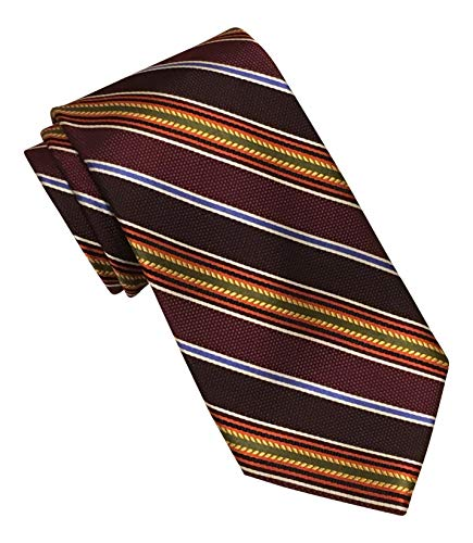 Jos. A. Bank Signature Gold Burgundy Striped Tie from Jos. A. Bank