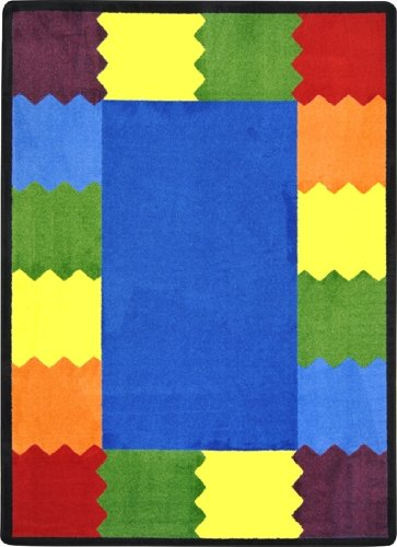 Lotus Water Treatment System - BLOCK PARTY Kids Rugs Area Rug 5'4