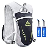 AONIJIE Hydration Vests Running Hydration Pack Backpack for Women and Men Lightweight Camel
