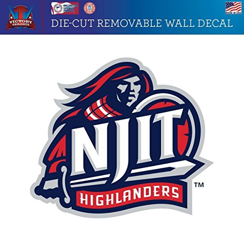 Victory Tailgate New Jersey Institute of Technology Highlanders Removable Wall Decal Logo 1 (Approx 24x24)