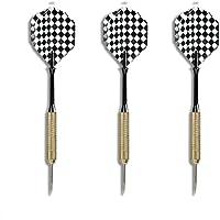 EUROXANTY® stalen dartpijlen | dartpijlen voor dartboard | messing stalen stangen | hoge vliegnauwkeurigheid | origineel…
