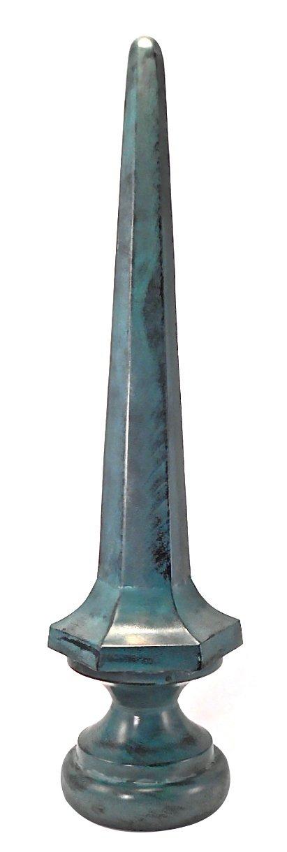 Dalvento Large Kyoto Finial- Verdigris