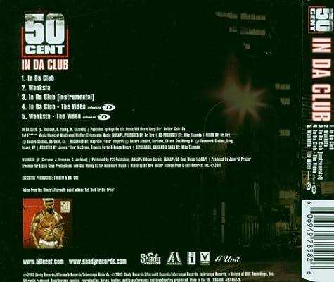 50 Cent - In Da Club - Amazon com Music