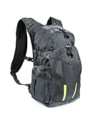 15L Hiking Backpack - Evecase Advanced Lite Compact Lightweight Outdoor Climbing Camping Outdoor Sports Travel Daypack Backpack - Gray