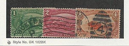 United States, Postage Stamp, 285-287 Used, 1898