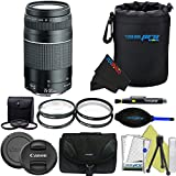 Canon EF 75-300mm f/4-5.6 III Lens + Pixi-Advanced Accessory Kit