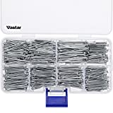 Tools & Hardware : Vastar 600 Pieces Hardware Nails and Brad Nails Assortment 7 Different Sizes