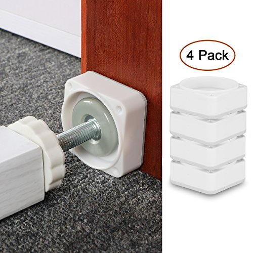 Baby Gate Wall Cups, Dog Gate Wall Protection Guard Prevent Damage from Wall Surface, Door, Wooden Stairs