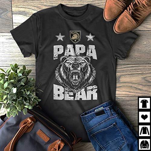 half off a91a7 497fa Amazon.com: Army West Point Black Knights Papa Bear Fan Gift ...