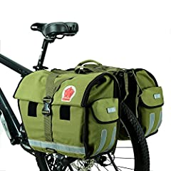 Product Traits : - Retro canvas, quality storage bag for long distance riding - Choice material and detailed tailoring ensures safe and durable use - PU coating and water tight binding ensures good rain water resistance - Structured by 2 main compart...
