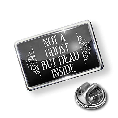 Pin Not a Ghost. But Dead Inside. Halloween Haunting Flourish - NEONBLOND