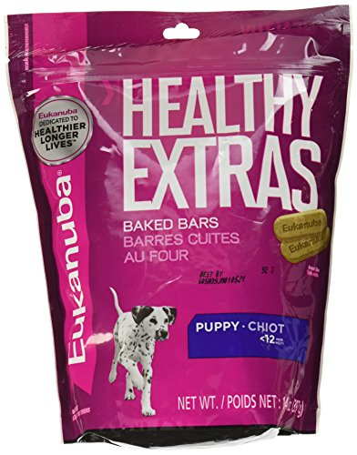 EUKANUBA HEALTHY EXTRAS Puppy Growth Treats for Puppies 14 Ounces Healthy Growth Puppy Food