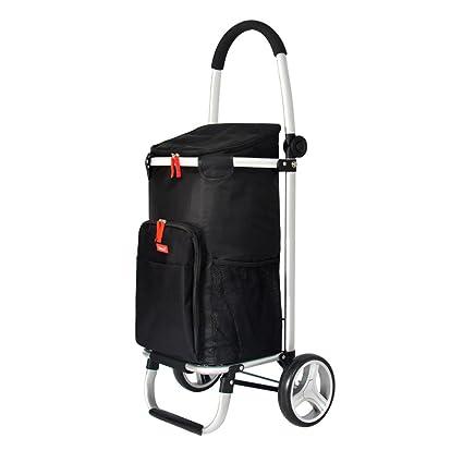 a79dc7eb7aff1 Carritos para Compras Carretilla plegable plegable del hogar del carro de  la compra de aluminio del