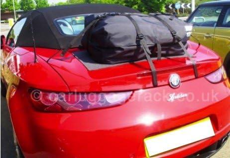 Alfa Romeo Brera rojo Impermeable Cubierta de asiento Delantero-Individual