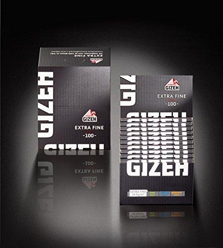 Gizeh Extra Fine Magnet Zigarettenpapier Papers Blättchen 200x (10 Boxen)
