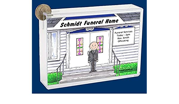 Amazon Com Pesonalized Bank Funeral Director Male Great