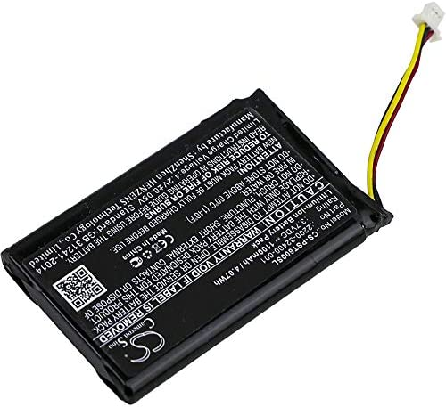 QDX-6000 1100mAh Replacement Battery for Polycom PWM-10T