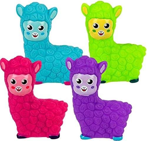 Happy Deals~ 12 Rubber Alpaca 2 inch Alpaca Party Favors