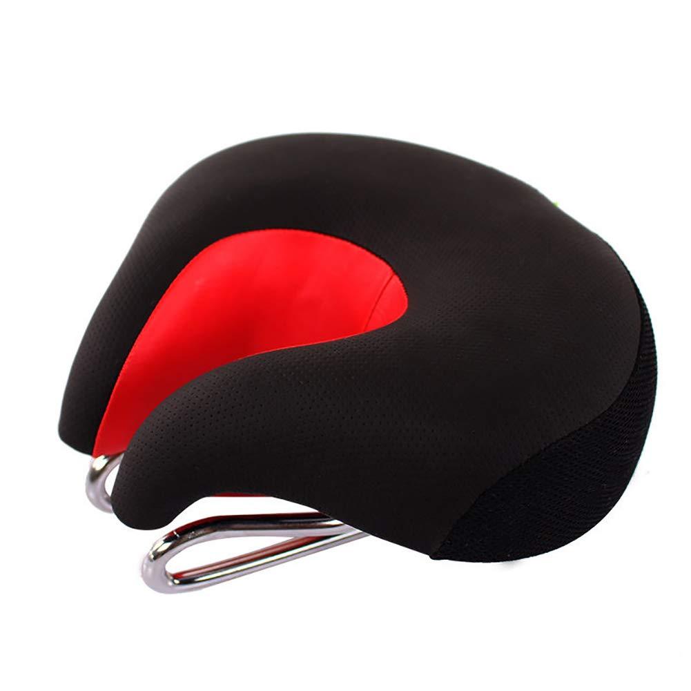 Antrygobin MTB Coj/ín Reflectante para sill/ín de Bicicleta de monta/ña Negro