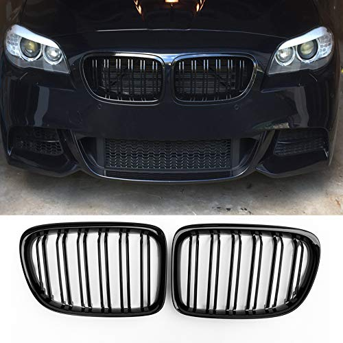 (Fandixin E84 Grille, ABS Front Kidney Grill Front Bumper Hood Grill for BMW X1 Series E84 sDrive16i sDrive18i sDrive20i xDrive25i xDrive28i xDrive35i)