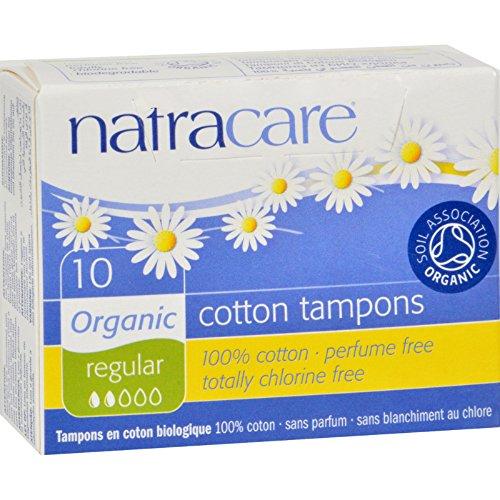 Natracare Tampons, Regular, 2 Packs of 10