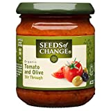 Seeds of Change Organic Stir in Sauce - Tomato & Olive (195g) - Pack of 2