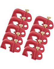 10PCS Universal Circuit Breaker Lockout Red with Twisted Screw