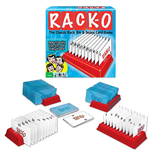 RACK-O, Retro package Card Game (Deluxe pack)