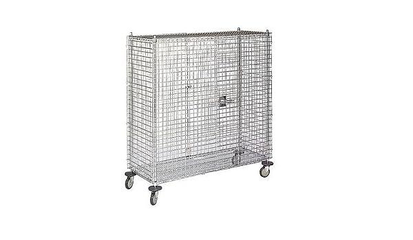 0eb1b3bbb02 DAYTON 1ECG8 Wire Security Cart