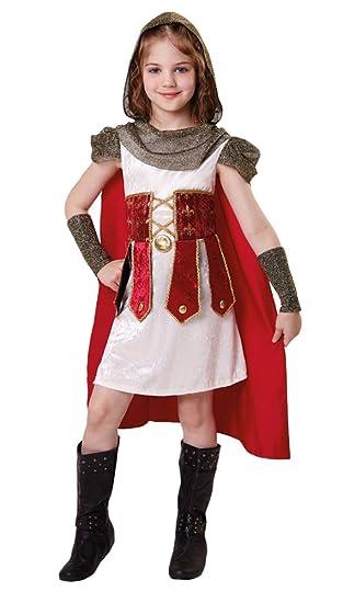 Bristol Novelty Traje Princesa Romana (L) Edad aprox 7-9 años