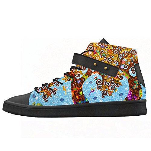 Arte De Encargo Del Árbol Que Pinta Los Zapatos De Lona Para Mujer Zapatos Zapatos Zapatos.