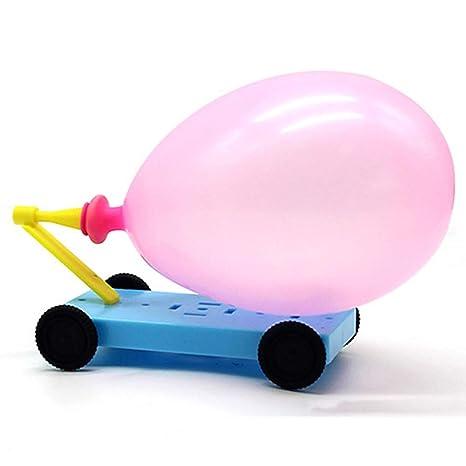 0Miaxudh DIY Ballon Auto juguete, globo impulsado Auto ...