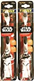 Firefly Kids! Star Wars Storm Trooper Sculpted Handle Toothbrush, 1 ea - 2pc
