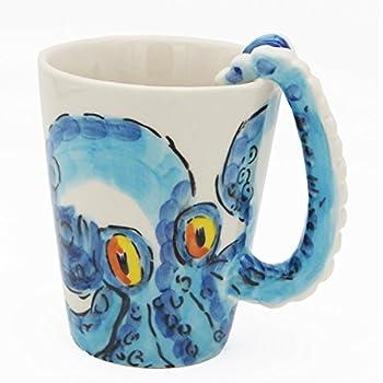 amazon com 3d handmade hand painted creative art coffee mug ceramic