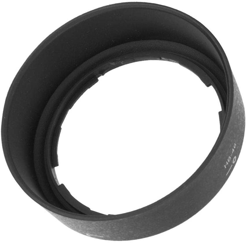 Bewinner HB-46 Lens Hood ABS Material Solid Durable Wear-Resistant Bayonet Rear Lens Cover for AF-S 35mm f//1.8G DX Camera Lens