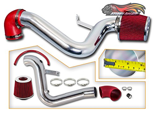 Cavalier Intake - Rtunes Racing Cold Air Intake Induction Black / Red / Blue Dry Air Filter 1995-2002 Chevy Cavalier Pontiac / Sunfire SE GT Pontiac Grand AM 2.4L L4 Black (Red)
