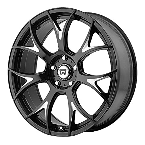 Motegi Racing MR126 Gloss Black Wheel with Milled Accents (19x8.5