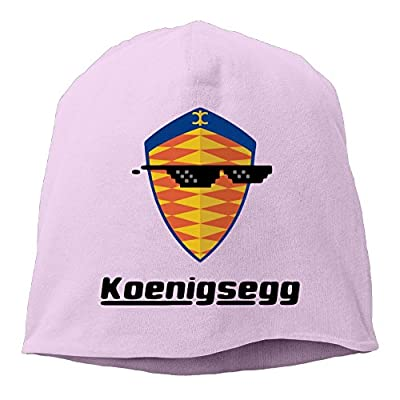 ACMIRAN Sunglass With Koenigsegg Car Logo Adjustable Hip Hop Hat One Size Pink
