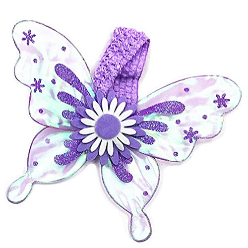 Dempsey Marie Pet Butterfly Wing Costume for Dogs or Cats - PURPLE -