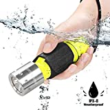 Garberiel 2 Pack Scuba Diving Flashlight, Super