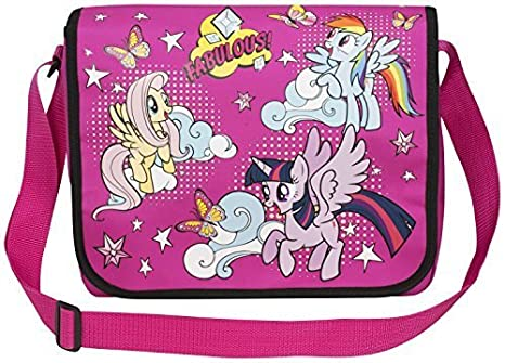 6b301db8c8 My Little Pony Messenger Shoulder Bag  Amazon.co.uk  Clothing