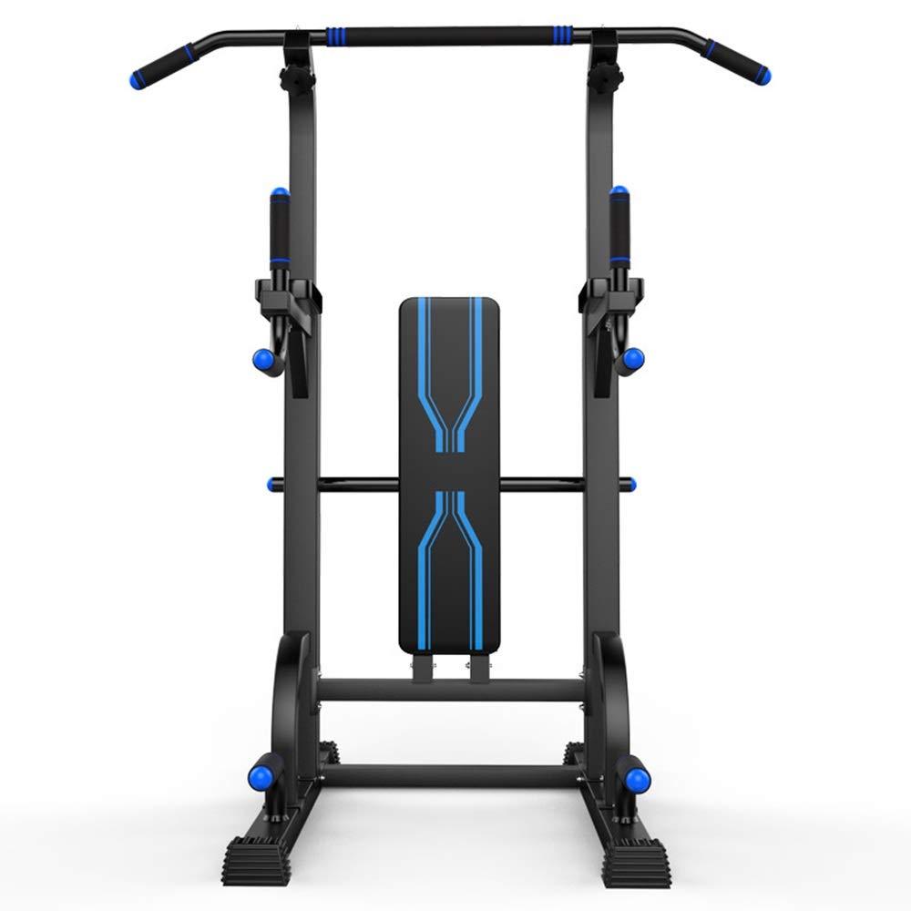マルチ筋肉トレーニングマシーン 家のためのあなたの生命力タワーの試しのすくいの場所を再建しなさい ホームジム筋力トレーニング用 (色 : 青, サイズ : 67*100*195CM) 青 67*100*195CM