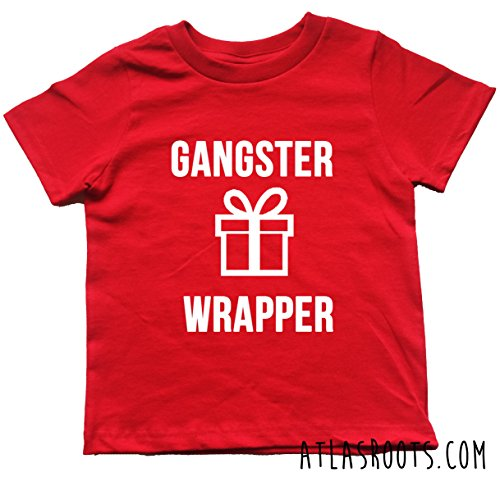 Gangster Wrapper Toddler Christmas (Gangster Christmas Sweaters)